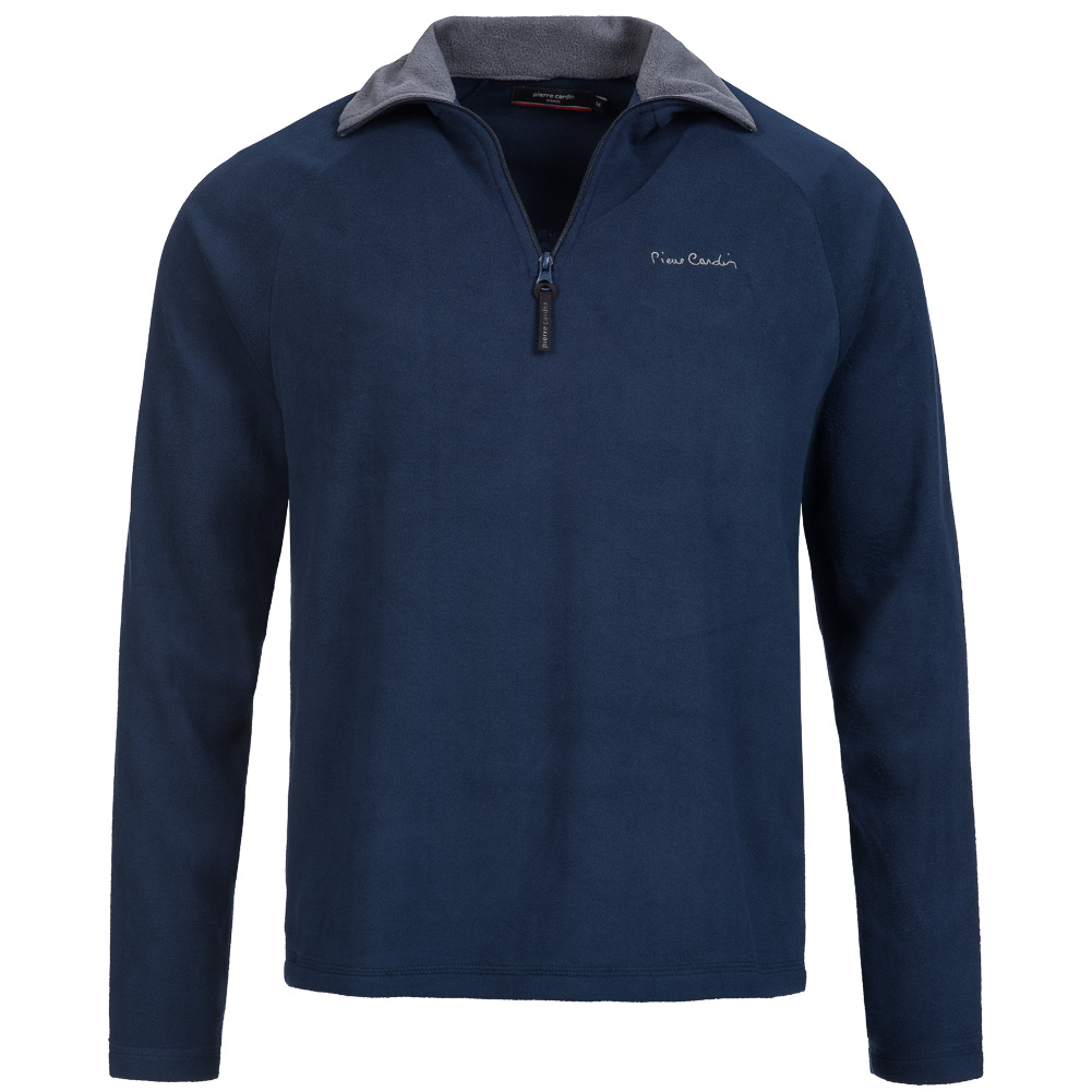 pierre cardin herren fleece sweatshirt fleecejacke sweatshirt pullover jacke neu ebay. Black Bedroom Furniture Sets. Home Design Ideas