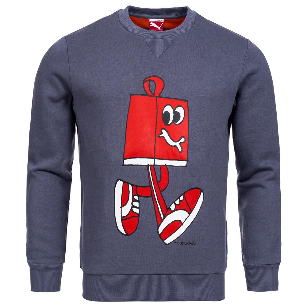 puma x todd james herren sweatshirt designer sweat shirt. Black Bedroom Furniture Sets. Home Design Ideas