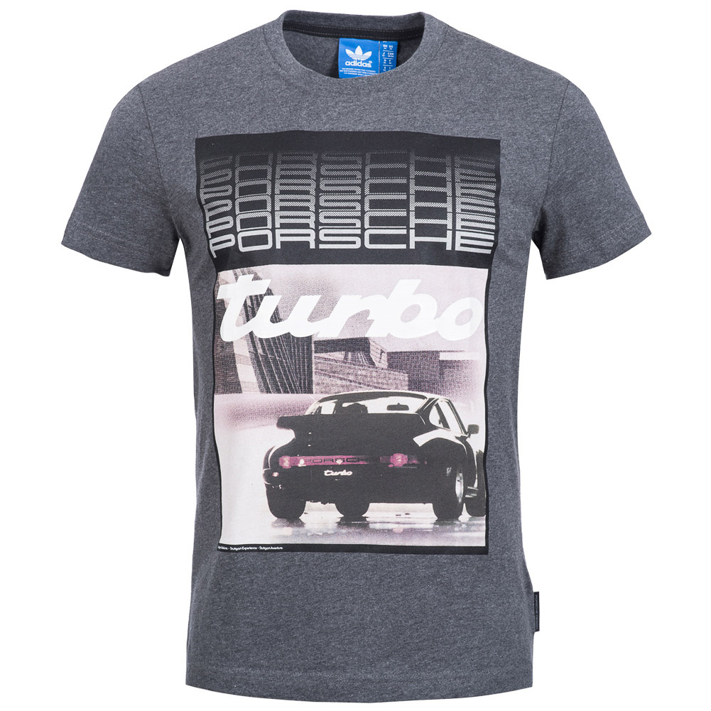 adidas originals porsche herren t shirt speedster turbo tee shirt xs xl neu ebay. Black Bedroom Furniture Sets. Home Design Ideas