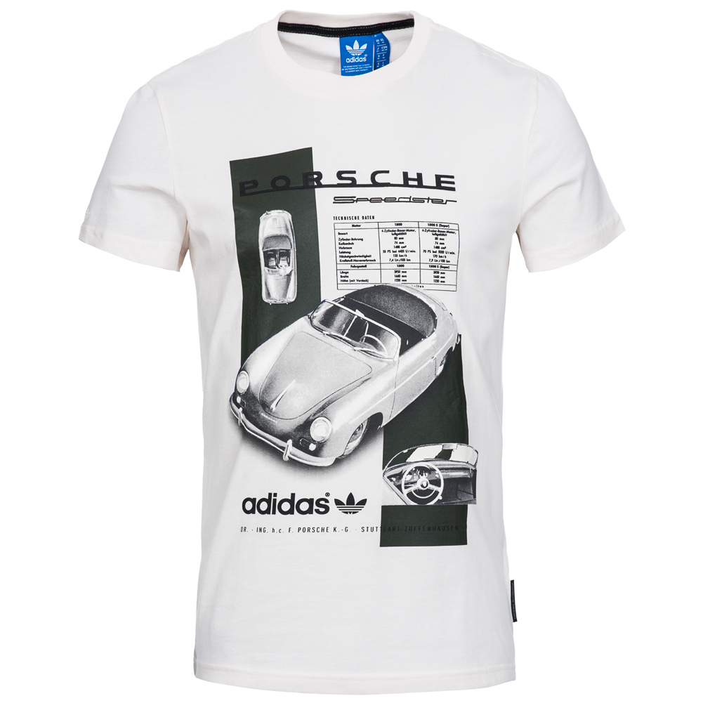 adidas originals porsche herren t shirt speedster turbo tee shirt xs. Black Bedroom Furniture Sets. Home Design Ideas