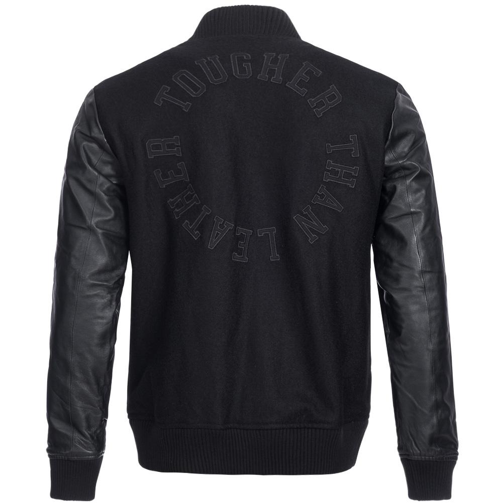 Leather adidas jackets