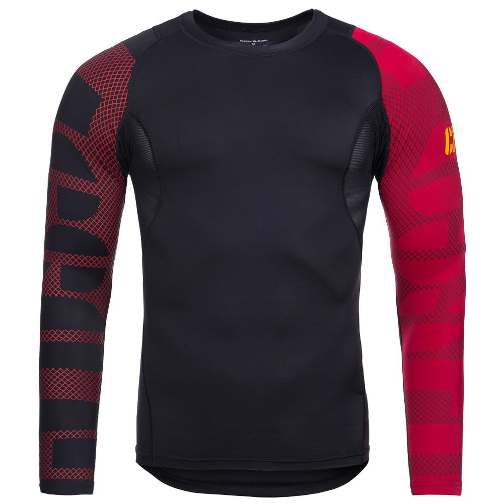 reebok crossfit herren kompression langarm kurzarm shirt. Black Bedroom Furniture Sets. Home Design Ideas