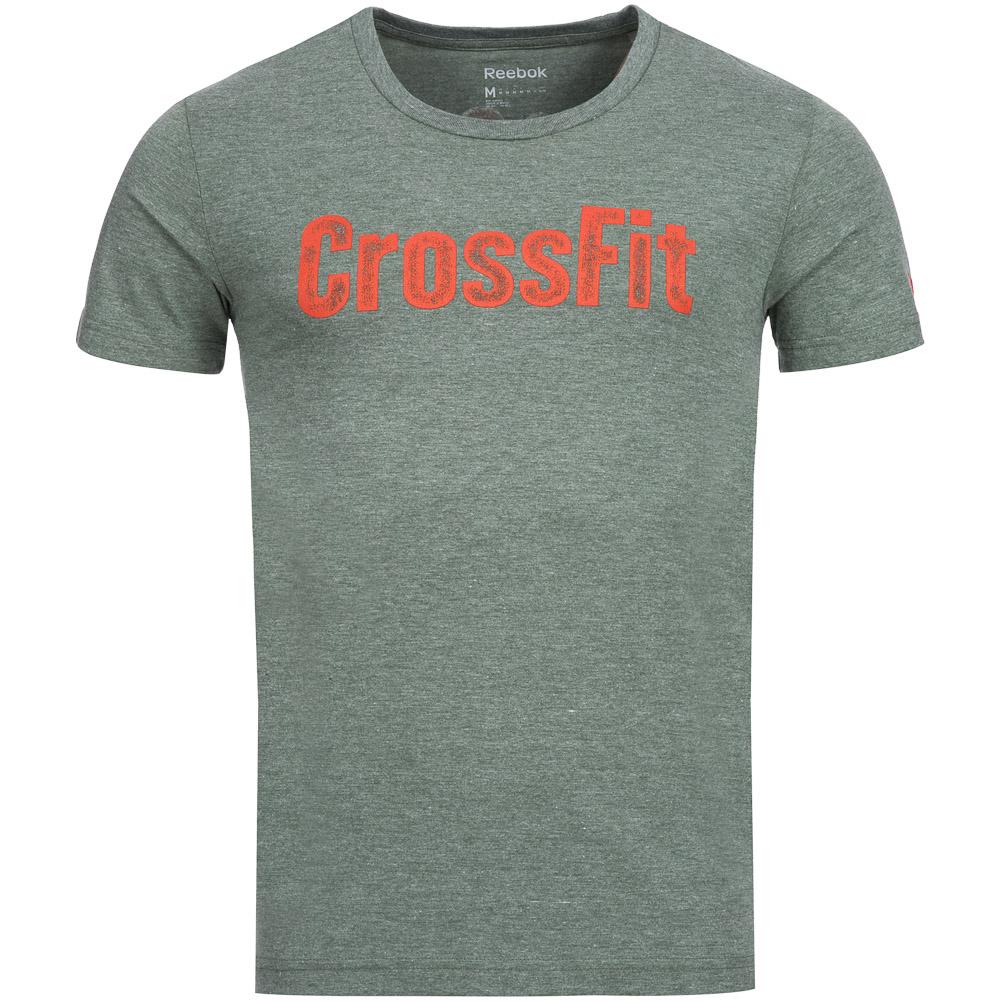 Reebok crossfit tee herren t shirt kurzarm freizeit tee for Reebok crossfit t shirts