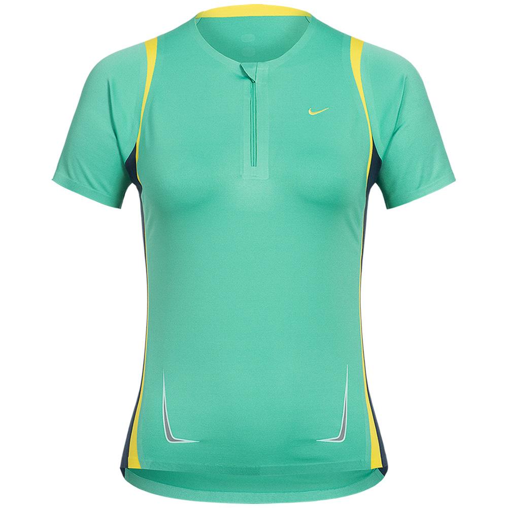 nike statement damen sport shirt women fitness fit dry. Black Bedroom Furniture Sets. Home Design Ideas