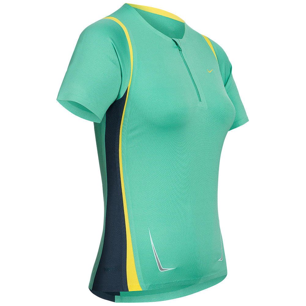 Details about Nike Statement Ladies Sport Shirt 212706 400 Fitness Top Top XS XL NEW show original title