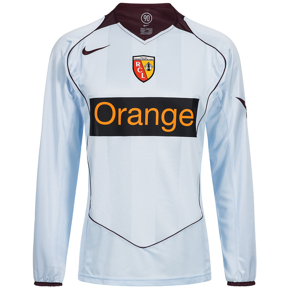 Rc-Lens-Nike-Hommes-Maillot-Maillot-France-S-M-L-XL-XXL-maillot-Ligue-de-Football