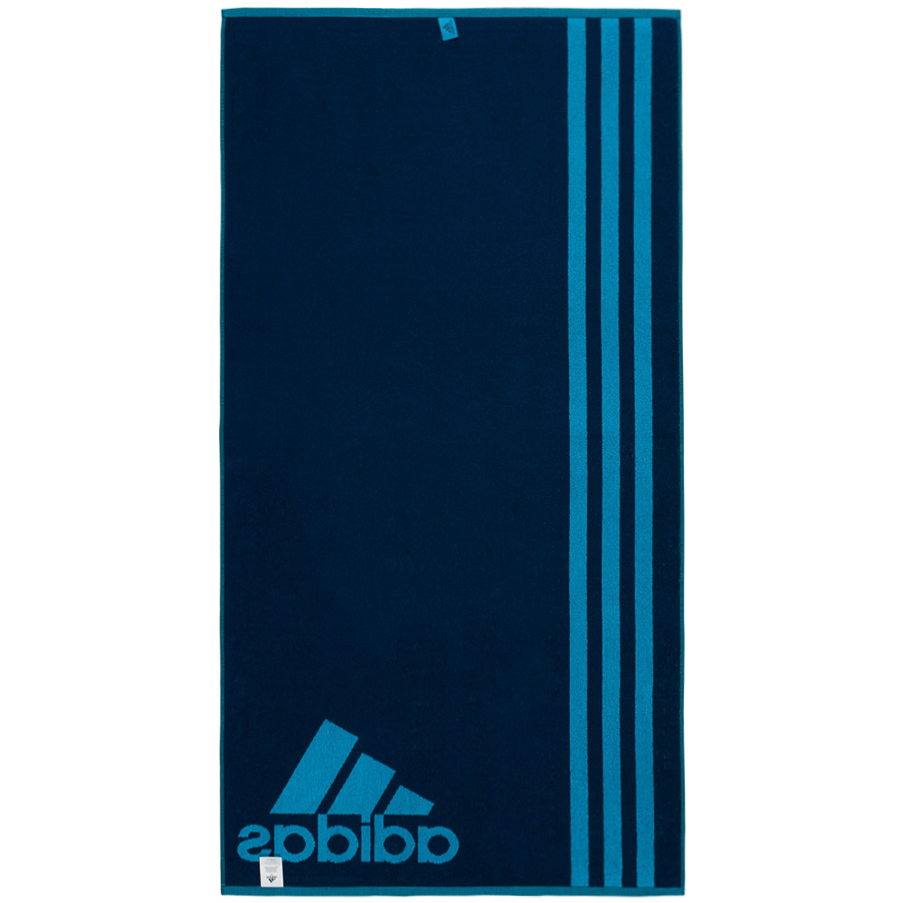 adidas towel l handtuch 140 cm x 70 cm badetuch strandtuch saunatuch neu ebay. Black Bedroom Furniture Sets. Home Design Ideas