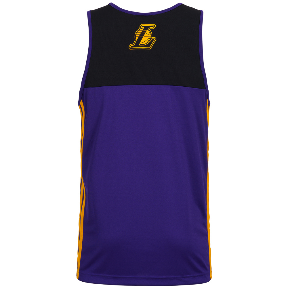 adidas nba basketball tank tops fan shirt fanwear la. Black Bedroom Furniture Sets. Home Design Ideas
