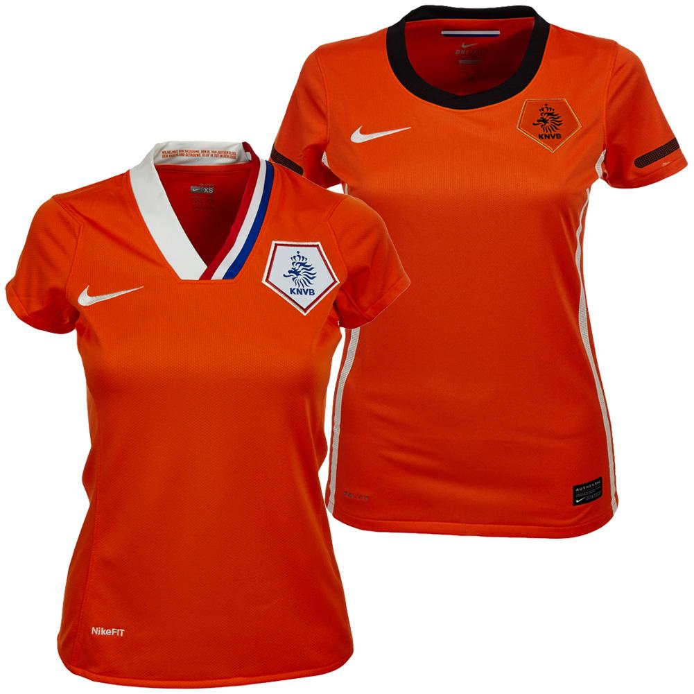 niederlande nike damen trikot xs s m l xl holland jersey. Black Bedroom Furniture Sets. Home Design Ideas