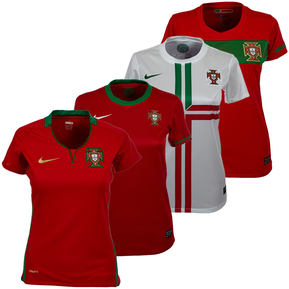 Portugal Trikot Damen