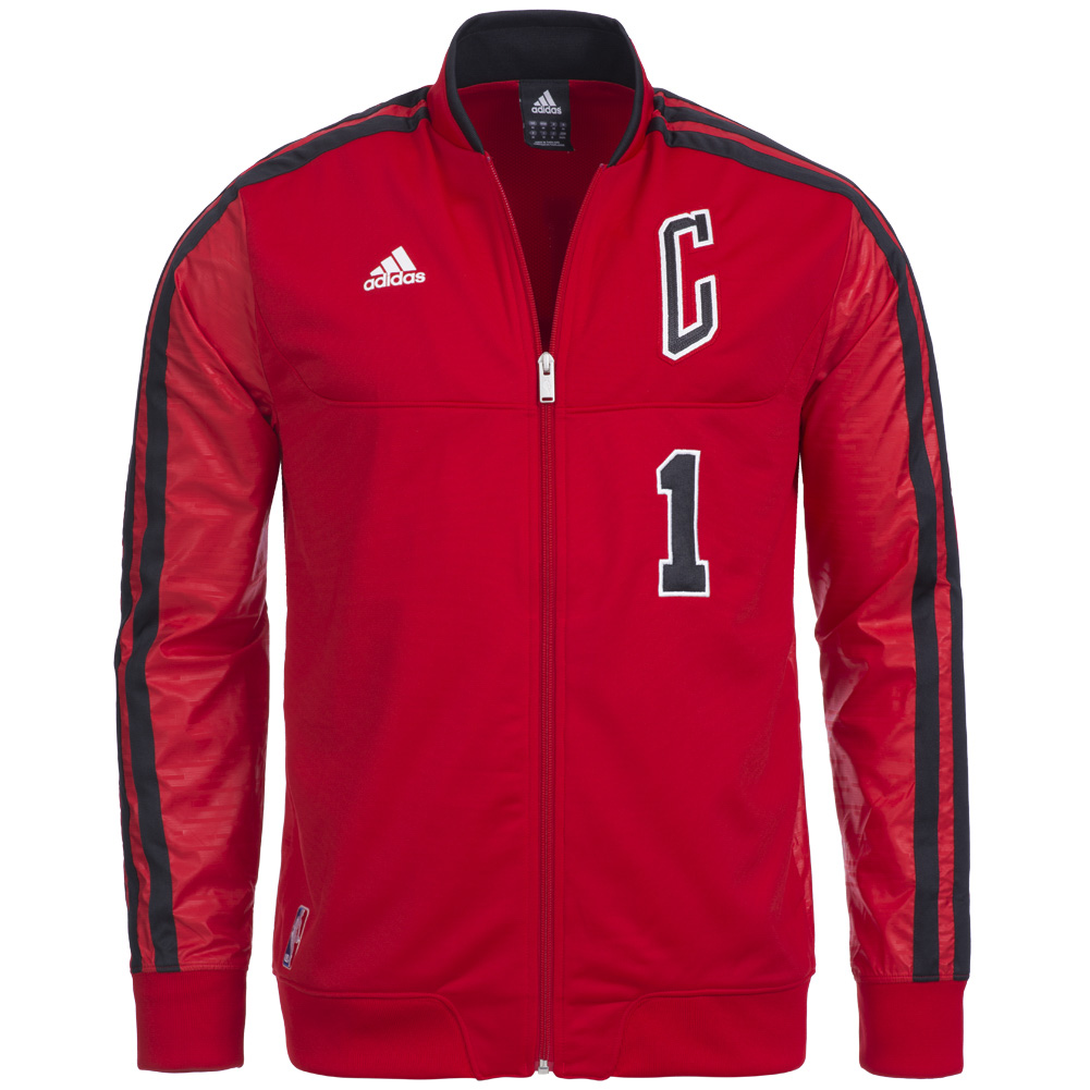 chicago bulls adidas on court play jacke nba 1 rose. Black Bedroom Furniture Sets. Home Design Ideas