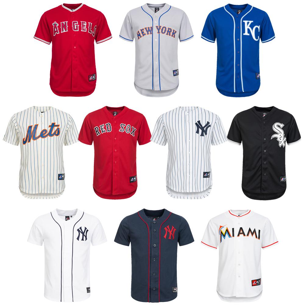 mlb baseball jersey majestic men 39 s jersey marlins mets sox. Black Bedroom Furniture Sets. Home Design Ideas