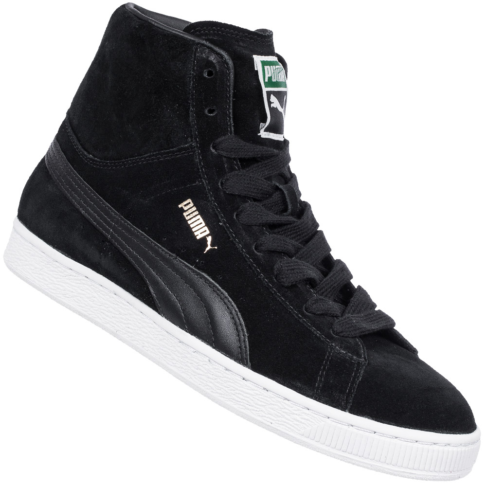 puma suede mid leder sneaker herren damen freizeit schuhe. Black Bedroom Furniture Sets. Home Design Ideas