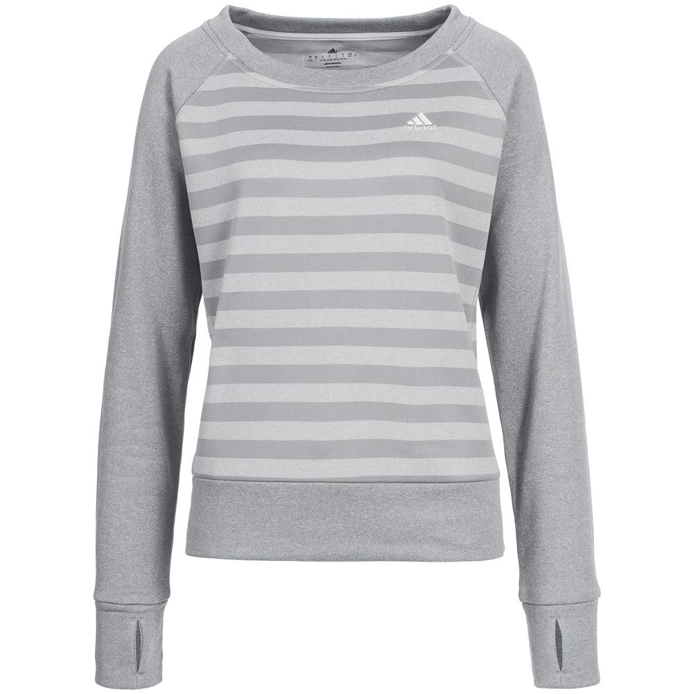 adidas damen fleece sweatshirt sweat shirt pullover xs s m l xl neu ebay. Black Bedroom Furniture Sets. Home Design Ideas