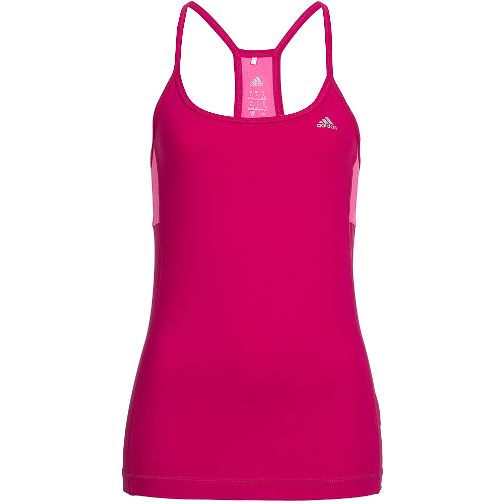 adidas damen climalite essentials tank top fitness shirt. Black Bedroom Furniture Sets. Home Design Ideas