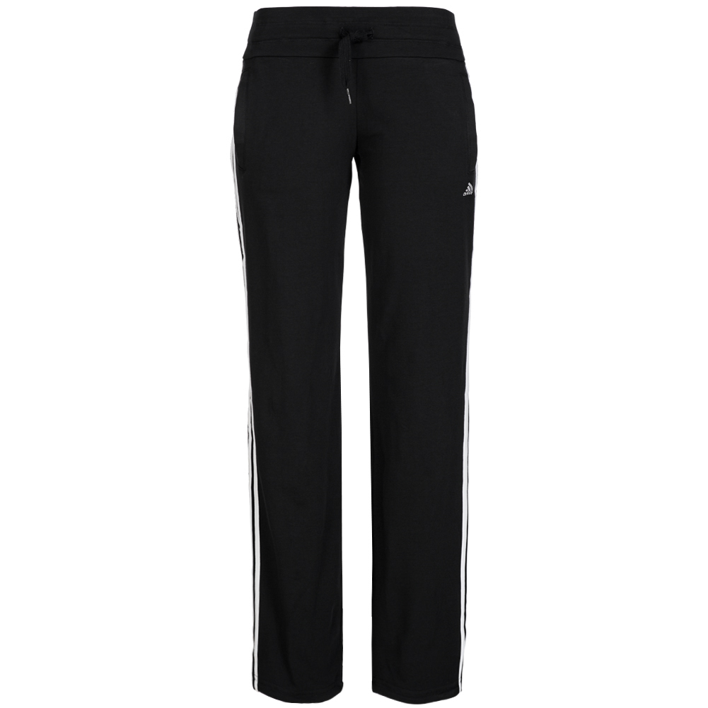 adidas damen hose essentials 3s knit pants trainingshose fitnesshose sport neu ebay. Black Bedroom Furniture Sets. Home Design Ideas