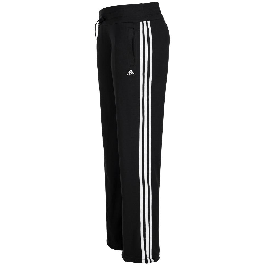 adidas damen hose essentials 3s knit pants trainingshose. Black Bedroom Furniture Sets. Home Design Ideas