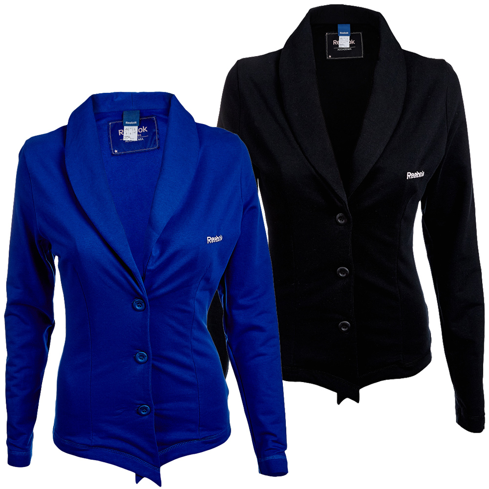 reebok sportliche damen blazer jacke s m sakko schicke. Black Bedroom Furniture Sets. Home Design Ideas