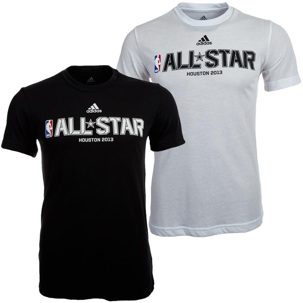 nba adidas all star t shirt houston 2013 basketball fan