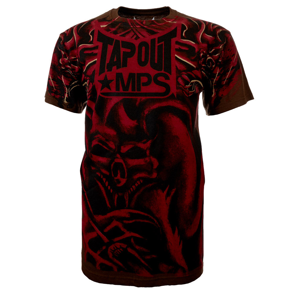 Tapout Mps t Shirt Tapout t Shirt Mma Mixed