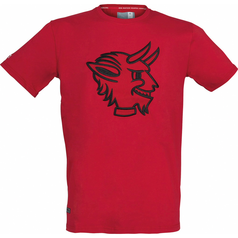 1 kaiserslautern uhlsport fan t shirt rote teufel fanshirt. Black Bedroom Furniture Sets. Home Design Ideas