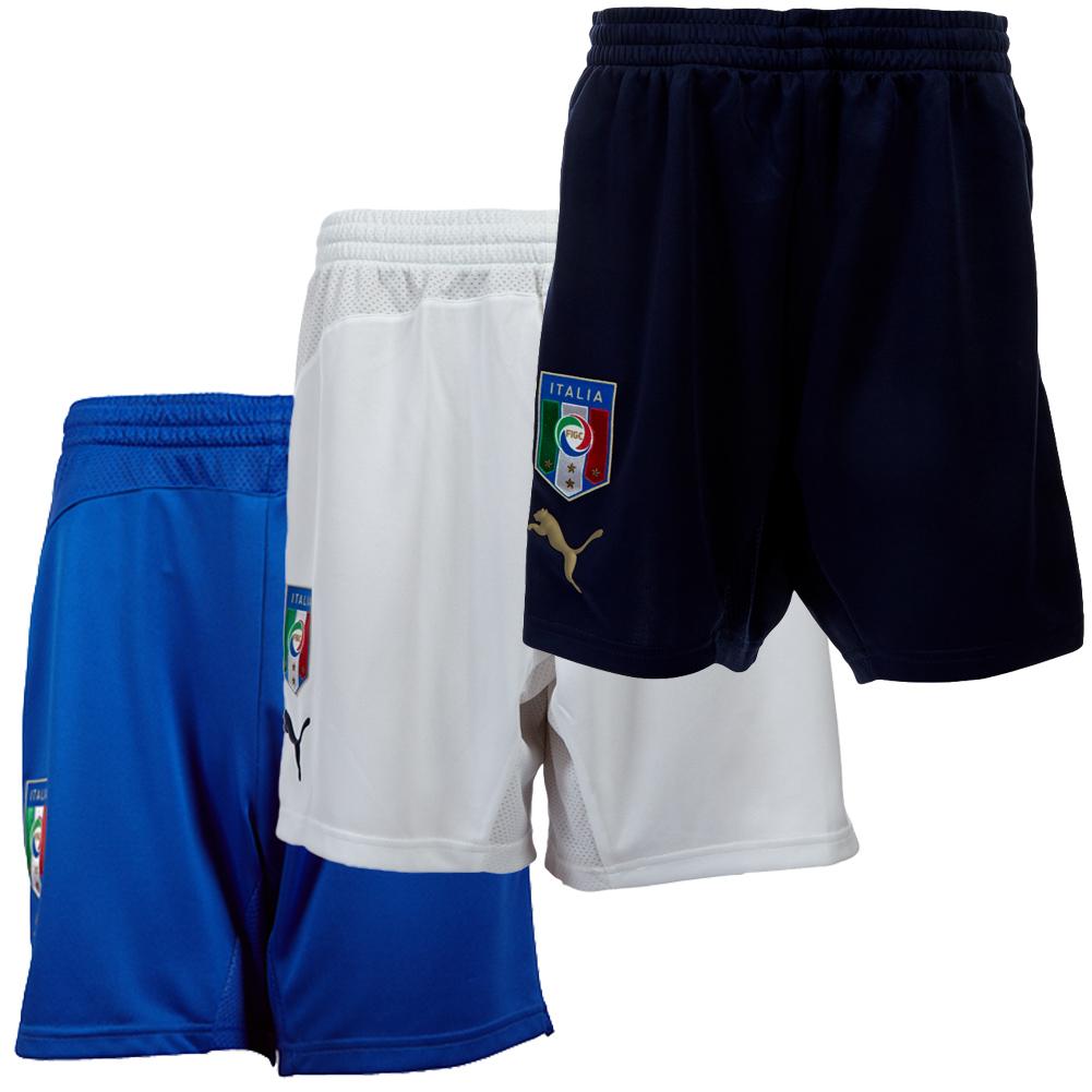 Italien-Short-Puma-XS-S-M-L-XL-2XL-3XL-Squadra-Azzura-Italia-Trikothose-Hose-neu