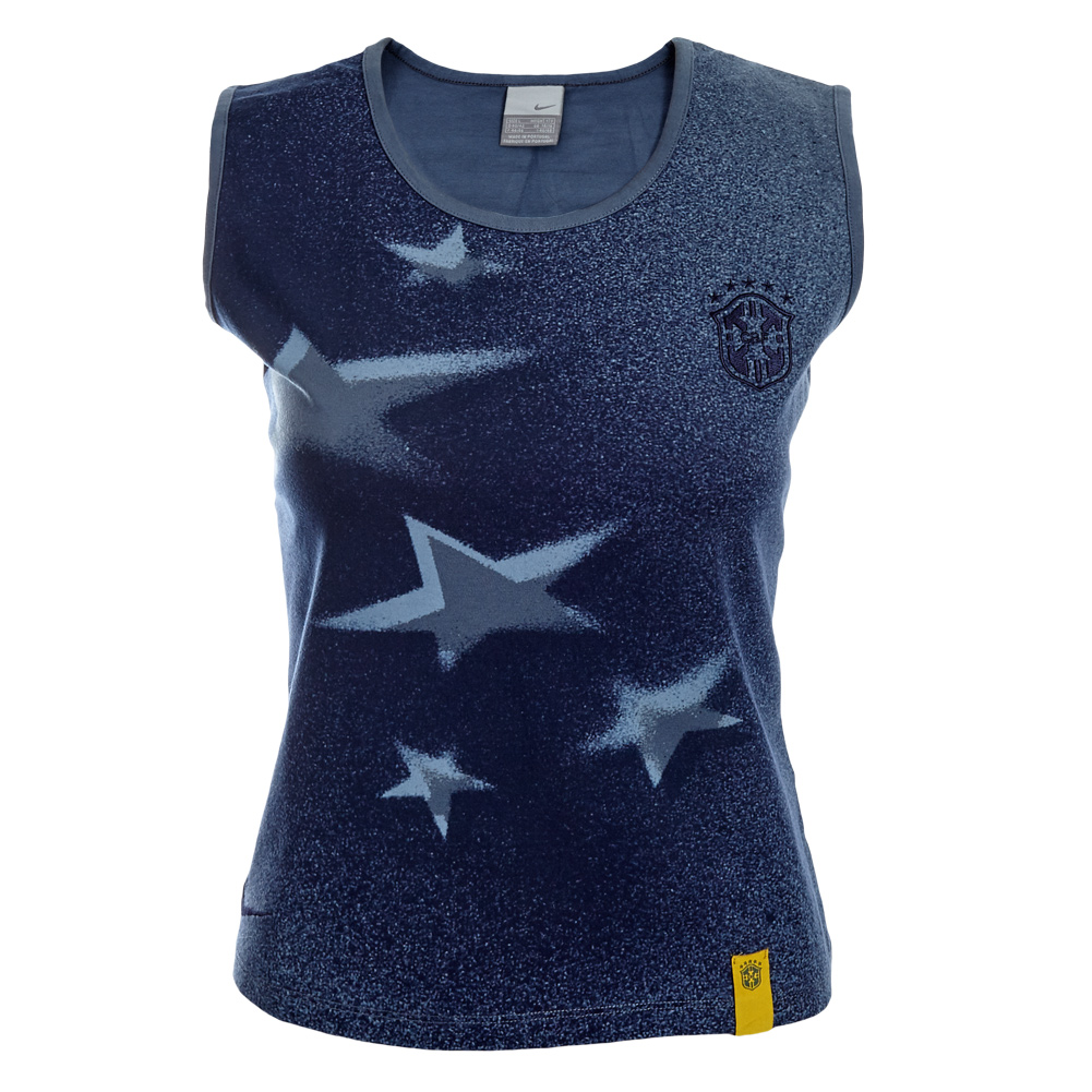 brasilien nike damen tank top shirt 296029 brazil fan tanktop xs s m l xl neu ebay. Black Bedroom Furniture Sets. Home Design Ideas