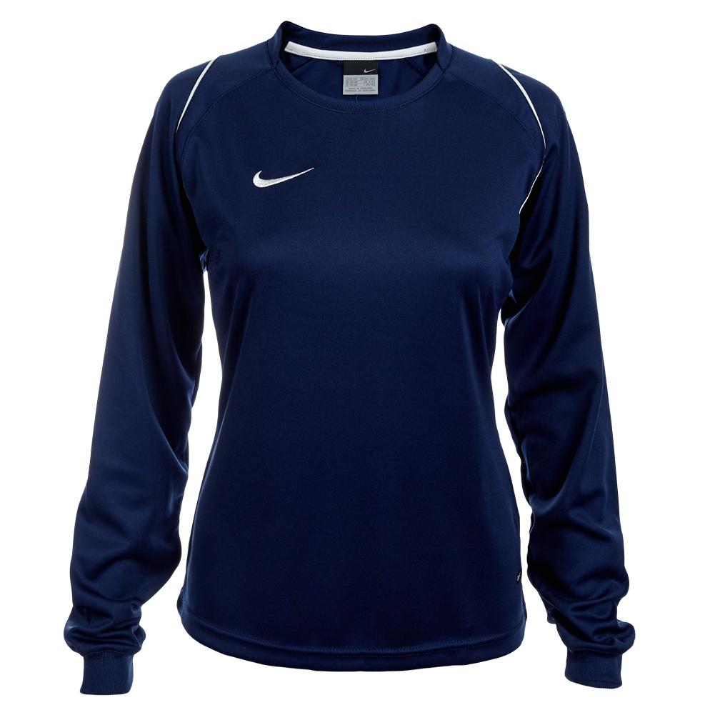 nike langarm trikot damen sport shirt 298192 trikot xs s m l xl atmungsaktiv neu ebay. Black Bedroom Furniture Sets. Home Design Ideas