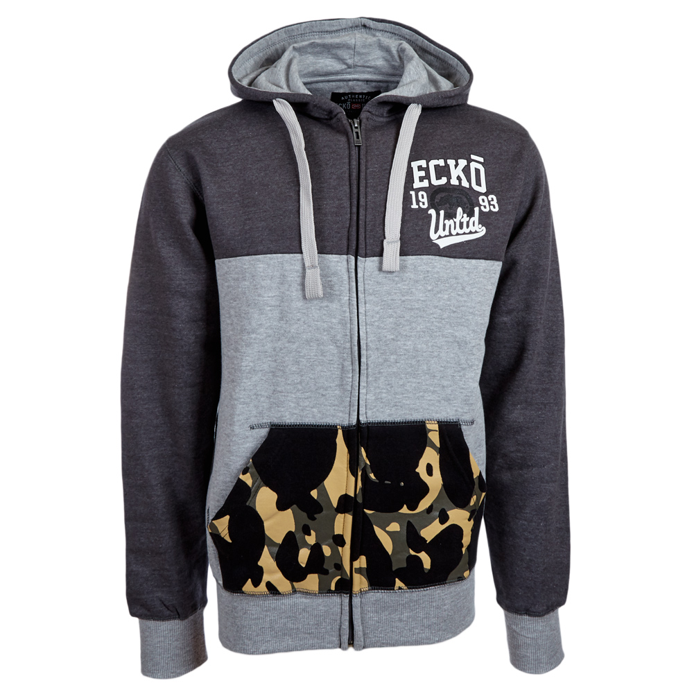 ecko unltd herren hoody kapuzenpullover pullover s m l xl. Black Bedroom Furniture Sets. Home Design Ideas