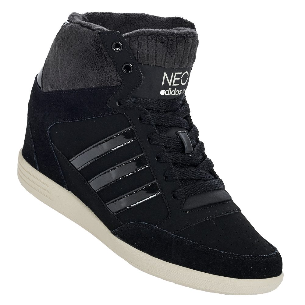 adidas neo weneo super wedge damen schuhe 36 37 38 39 40 41 42 keil sneaker neu. Black Bedroom Furniture Sets. Home Design Ideas