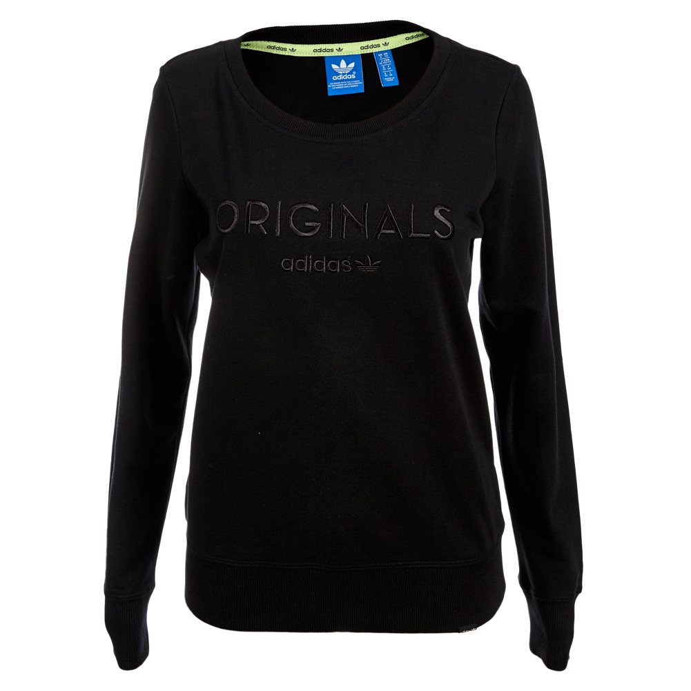 adidas originals damen sweatshirt pullover 30 32 34 36 38. Black Bedroom Furniture Sets. Home Design Ideas