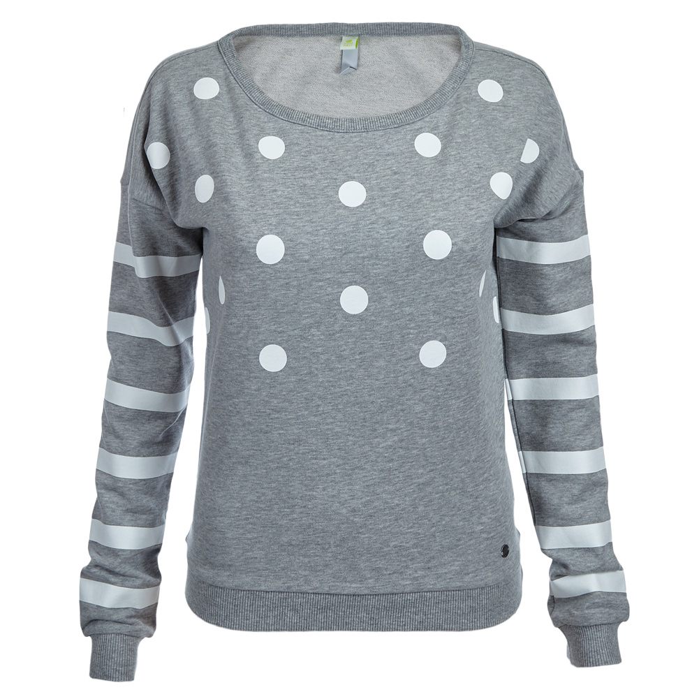 adidas neo damen kinder polka dot sweatshirt f78968 2xs xs. Black Bedroom Furniture Sets. Home Design Ideas