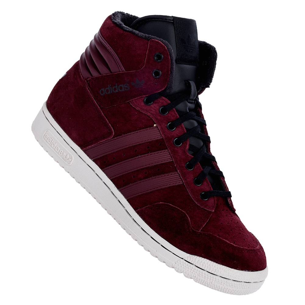 adidas originals pro conference hi winter sneaker m25452 herren leder schuhe neu ebay. Black Bedroom Furniture Sets. Home Design Ideas