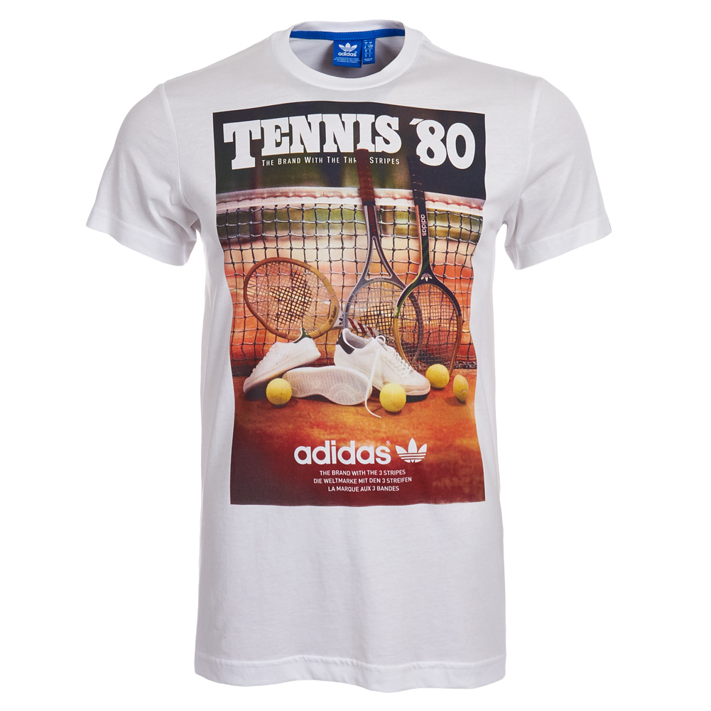 adidas t shirt herren tennis