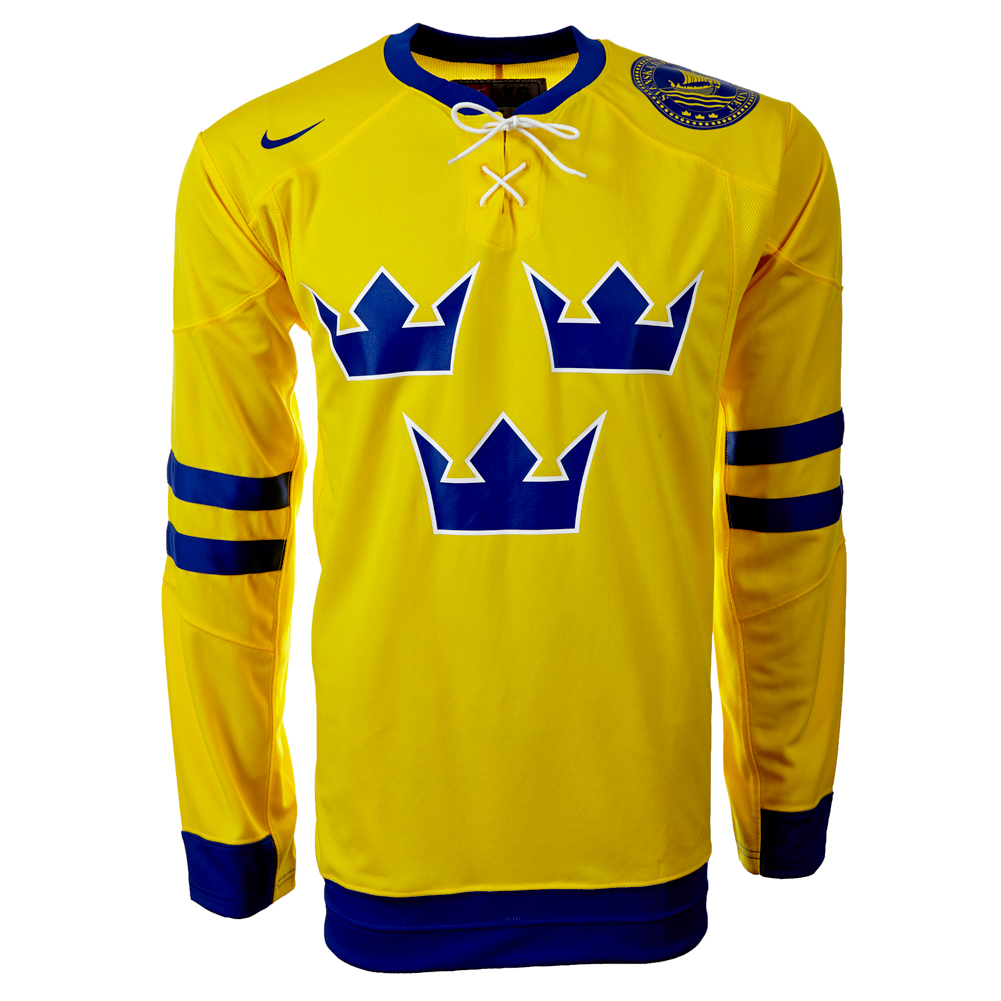 schweden eishockey trikot nike gr m 265238 749 sweden ice. Black Bedroom Furniture Sets. Home Design Ideas