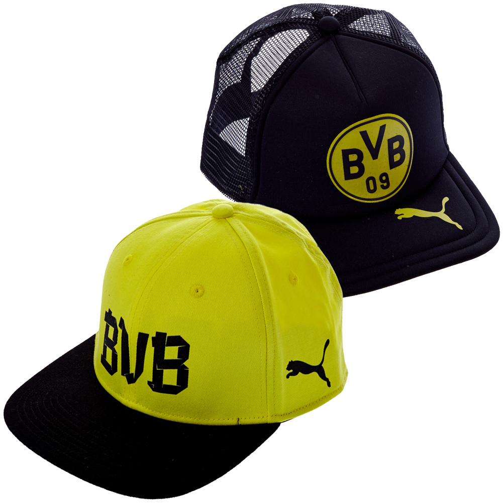 bvb 09 borussia dortmund cap kloppo trucker cap puma baseballcap klopp new ebay. Black Bedroom Furniture Sets. Home Design Ideas