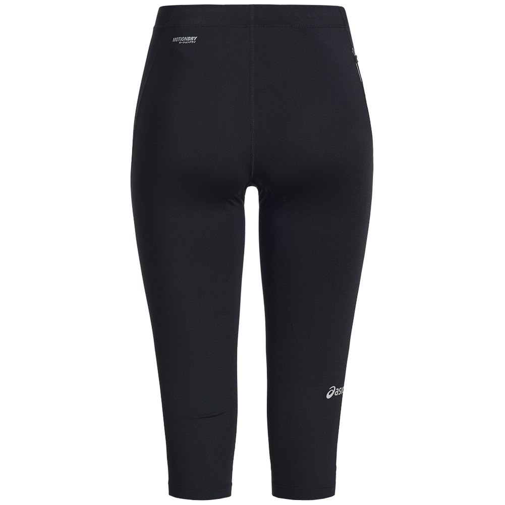 asics tiger knee tight running sports ladies pants 121335. Black Bedroom Furniture Sets. Home Design Ideas