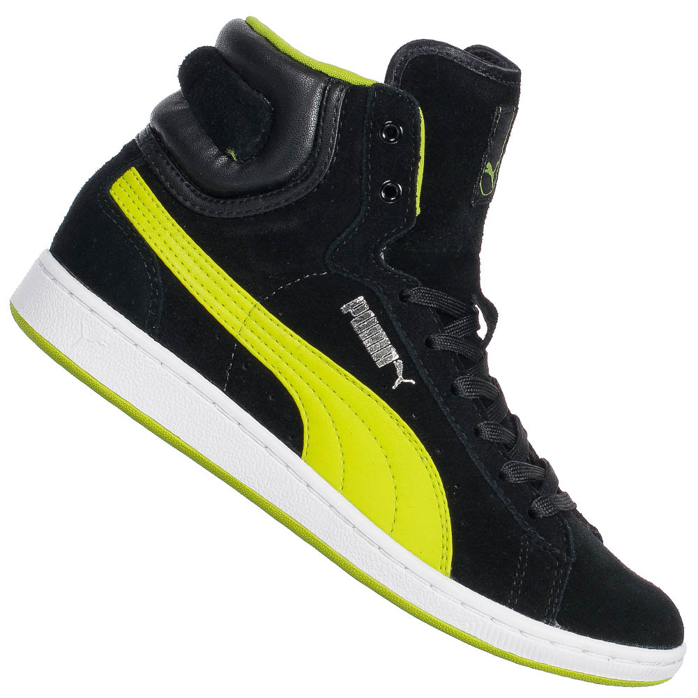 puma cross shot damen sneaker 355849 01 high top schuhe turnschuhe freizeit neu ebay. Black Bedroom Furniture Sets. Home Design Ideas