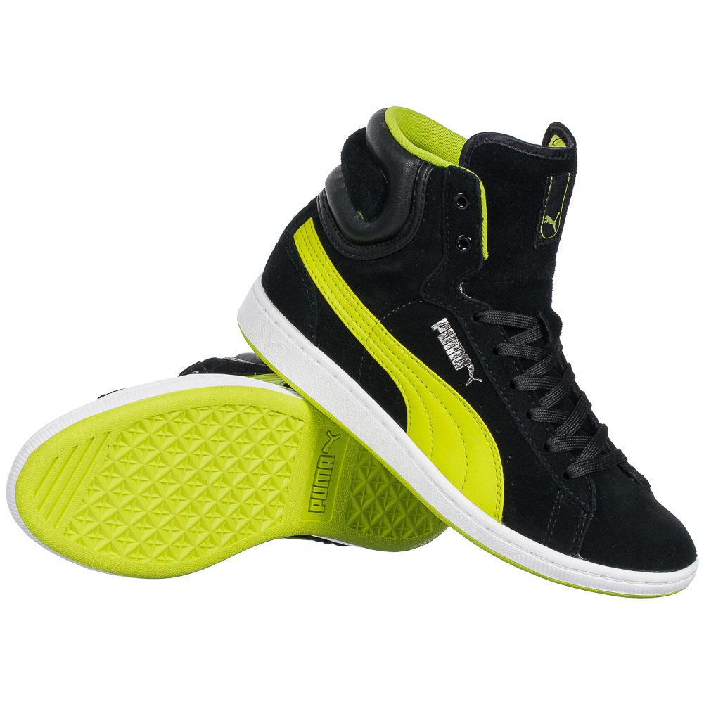 puma cross shot damen sneaker 355849 01 high top schuhe turnschuhe. Black Bedroom Furniture Sets. Home Design Ideas