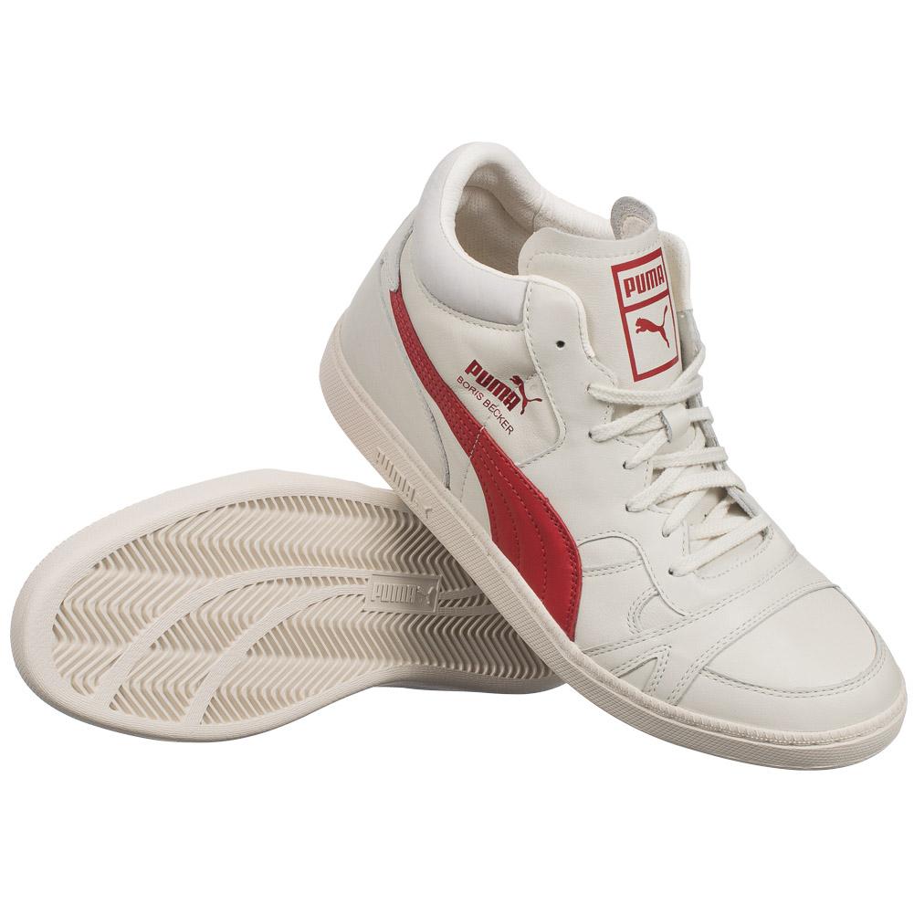 puma boris becker leather unisex schuhe tennis 357768 leder sneaker legende neu ebay. Black Bedroom Furniture Sets. Home Design Ideas