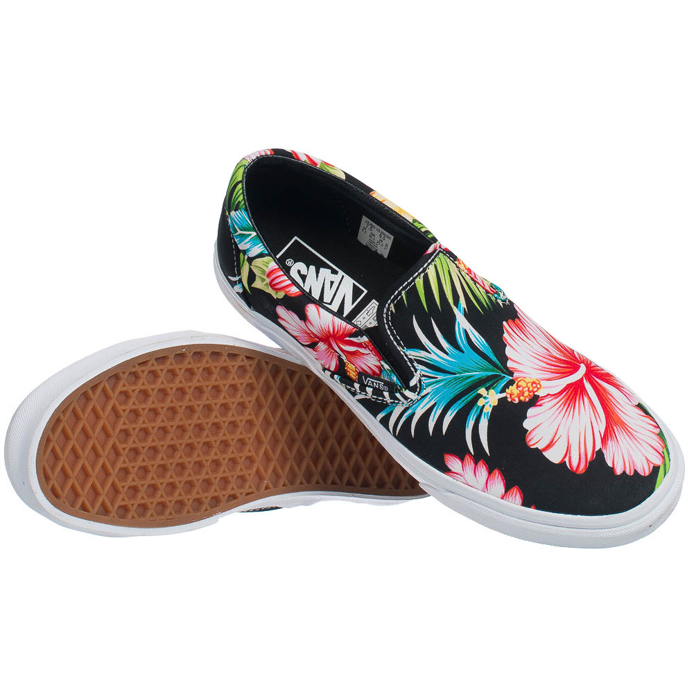 vans classics slip on damen herren blumen freizeit schuhe. Black Bedroom Furniture Sets. Home Design Ideas