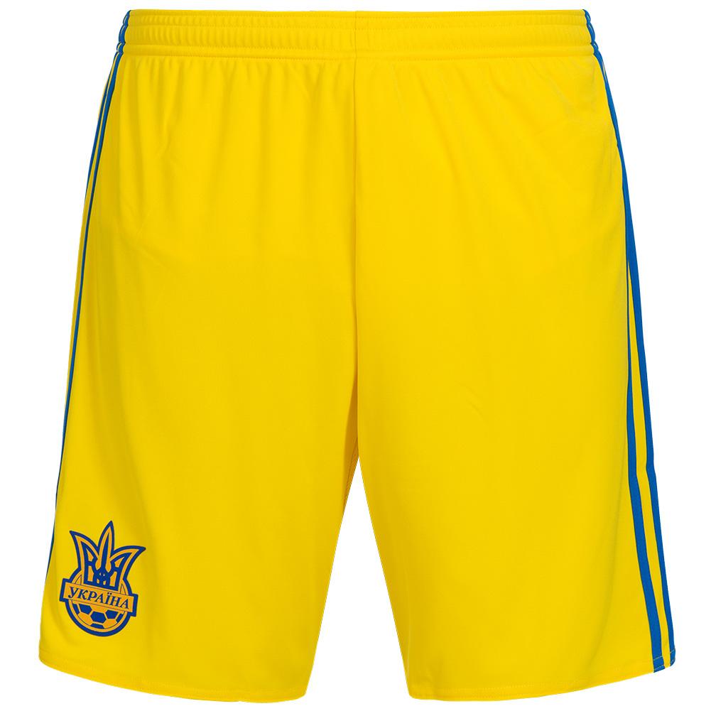 ukraine adidas shorts herren nationalmannschaft xs s m l. Black Bedroom Furniture Sets. Home Design Ideas