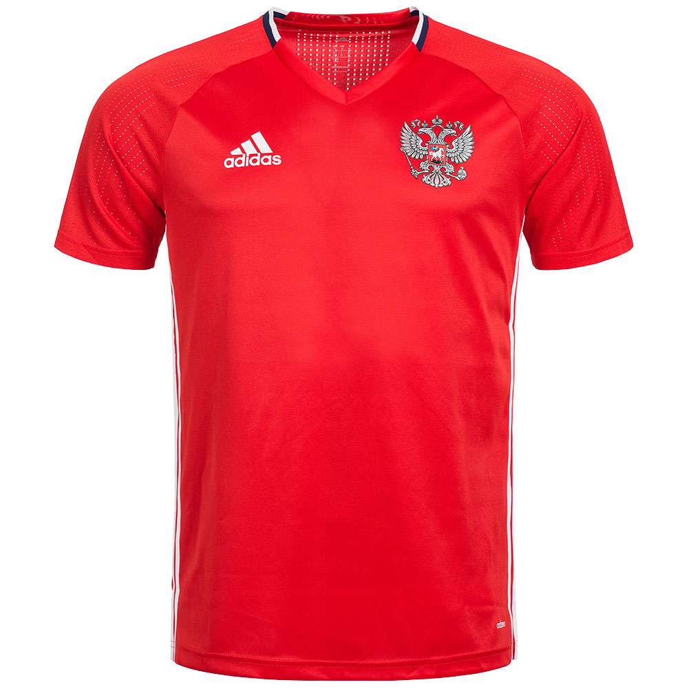 russland adidas trainings trikot herren pre match shirt. Black Bedroom Furniture Sets. Home Design Ideas