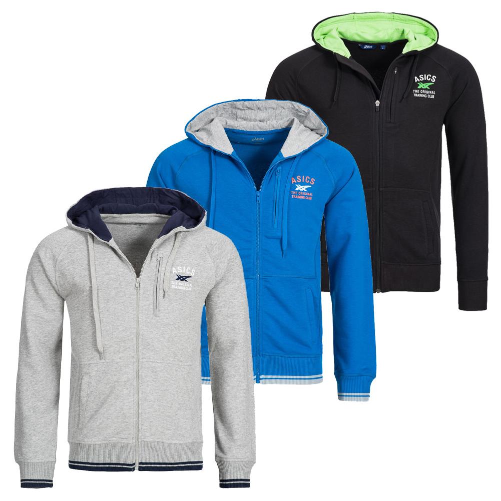 09025507e2d6 ASICS Full Zip Hoodie Herren Kapuzenjacke Sweatshirt Jacke 110404 ...