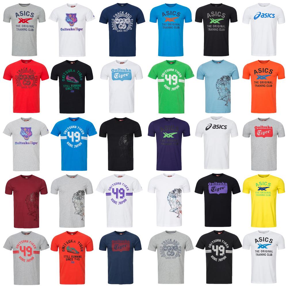 Details about Asics Onitsuka Tiger Mens T Shirt Men Sport Leisure Top 126223 NEW show original title