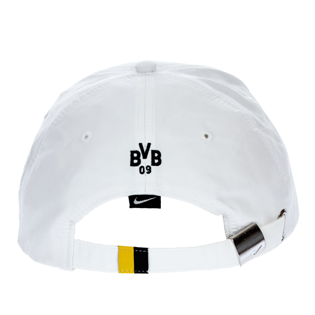 bvb 09 borussia dortmund nike cap 146939 100 einheitsgr e kappe m tze neu. Black Bedroom Furniture Sets. Home Design Ideas
