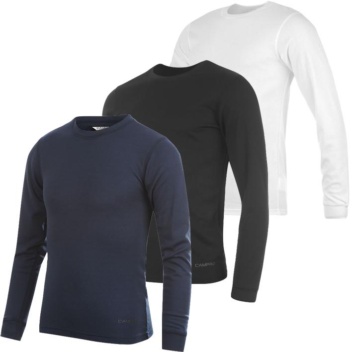 campri herren fitness compression baselayer shirt running jogging s m l langarm ebay. Black Bedroom Furniture Sets. Home Design Ideas