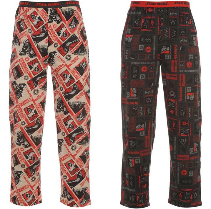 star wars herren lizenz pyjama hose 2er pack. Black Bedroom Furniture Sets. Home Design Ideas