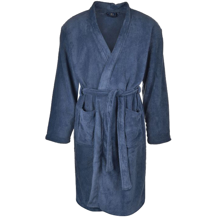 giorgio herren bademantel s m l fleece bath robe bade mantel saunamantel sauna ebay. Black Bedroom Furniture Sets. Home Design Ideas
