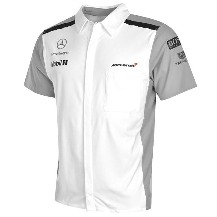 mclaren mercedes benz rennfahrer hemd team shirt formel 1 hemd s m l xl 2xl f1 ebay. Black Bedroom Furniture Sets. Home Design Ideas